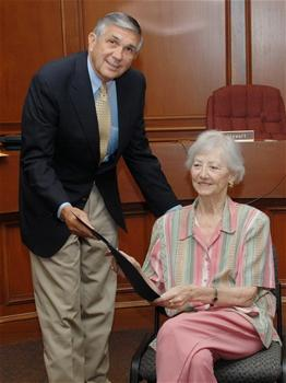 Senator Justice with Donna